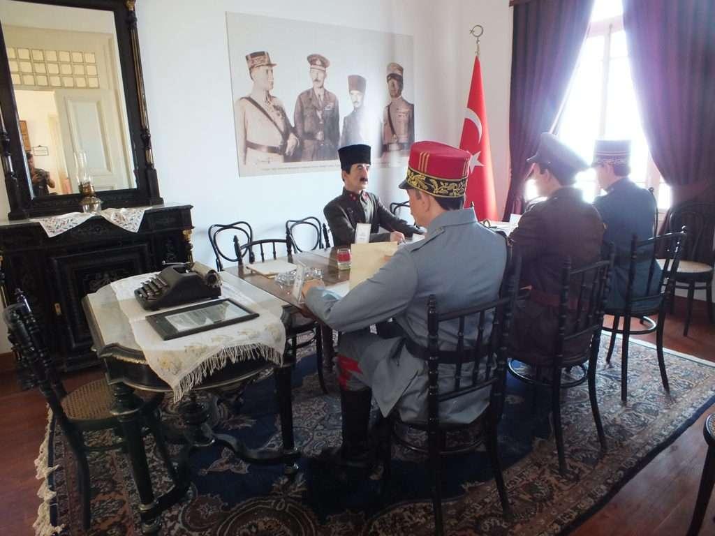 Mudanya Mütarekesi'nin İmzalandığı Salon