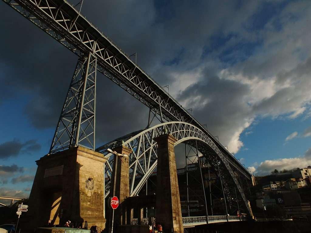 Ponte Dom Luís I Köprüsü Vila Nova de Gaia Tarafı