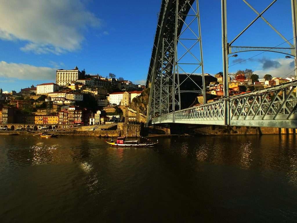 Ponte Dom Luís I Köprüsü Porto Tarafı