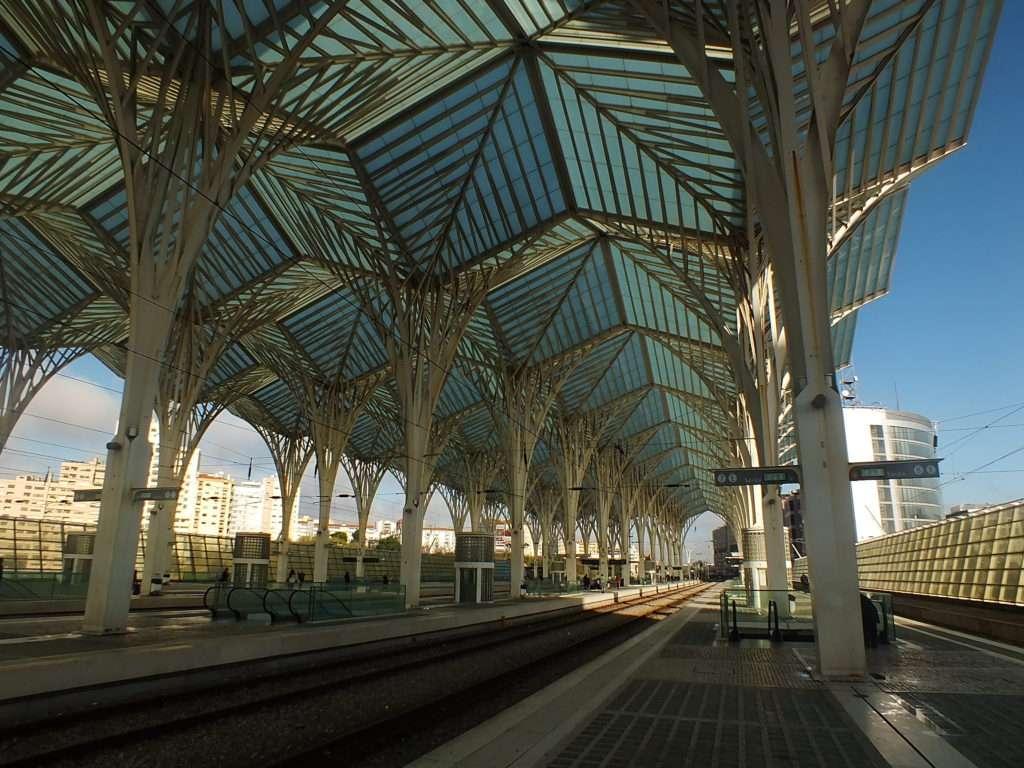 Lizbon Oriente İstasyonu