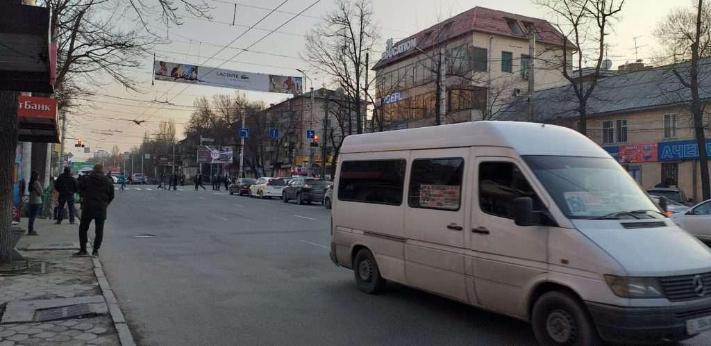 Bişkek'te Bir Marshrutka