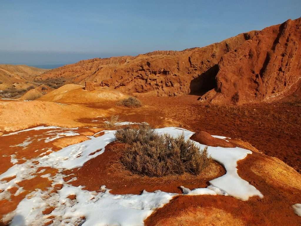 Issık Gölü Peri Masalı Kanyonu