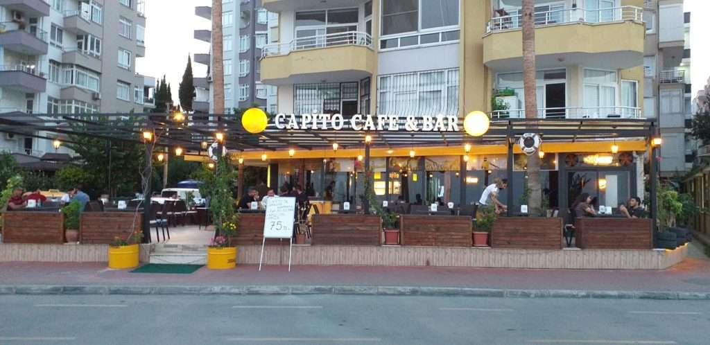 Mersin'de Ne Yenir? Nerede Yenir? Capito Cafe & Bar