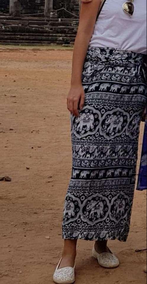 Siem Reap Satın Aldığımız Etek