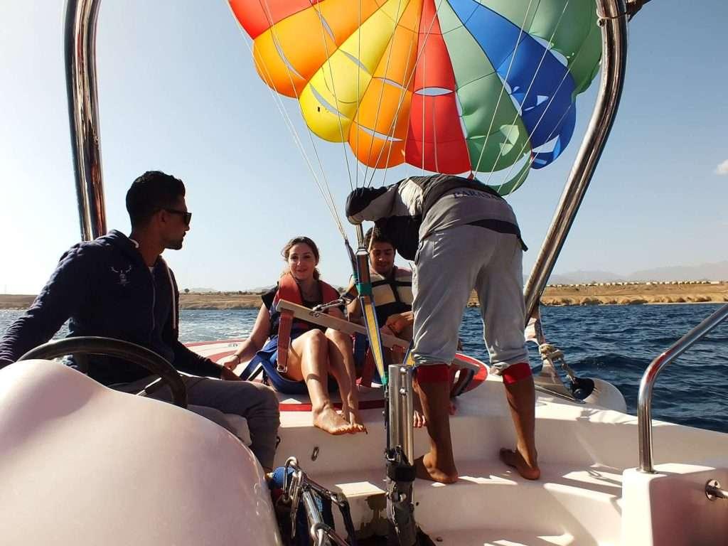 Şarm El-Şeyh Su Sporları Parasailing