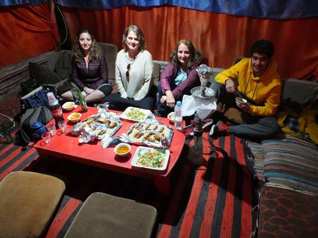 Sina Çölü'nde Bedevi Gecesi