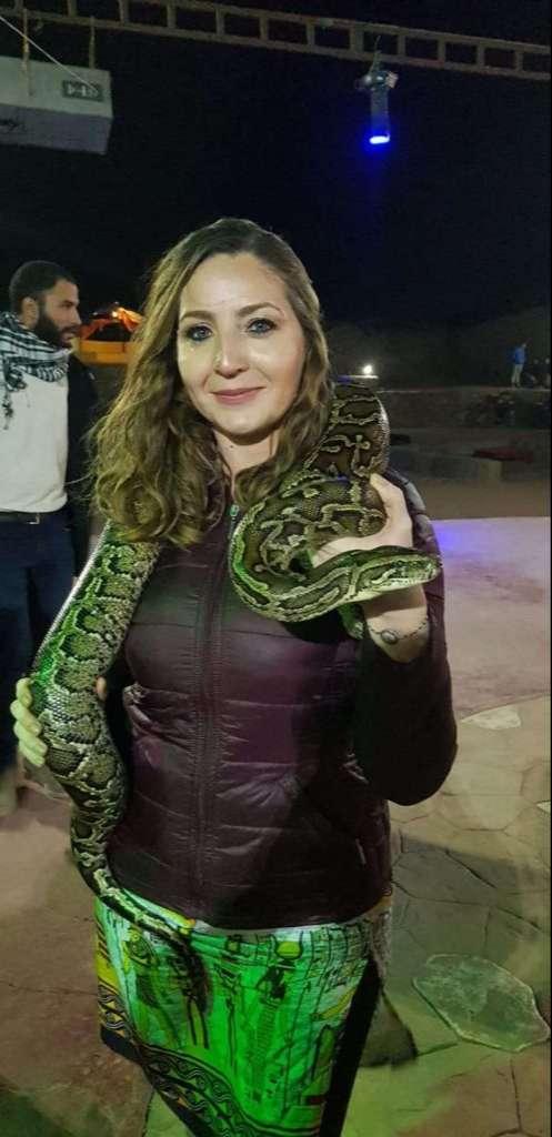 Yılanla Fotoğraf