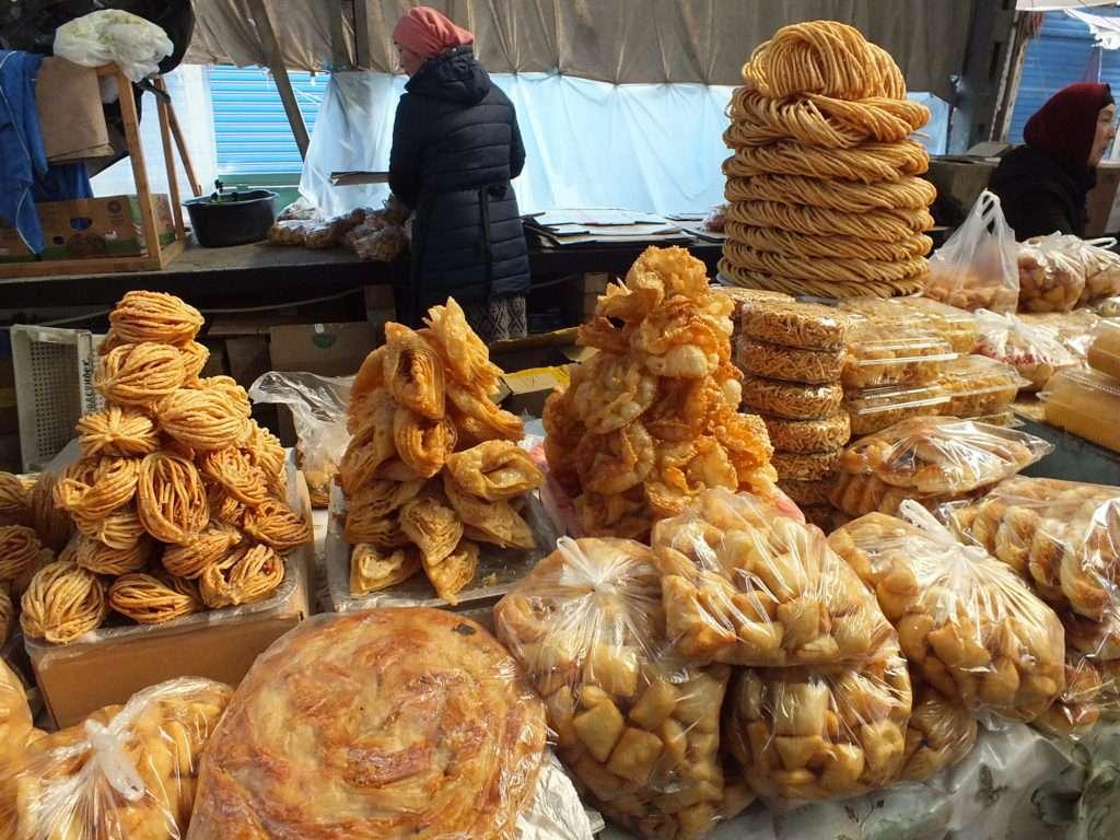 Oş Pazarı Kırgız Tatlıları