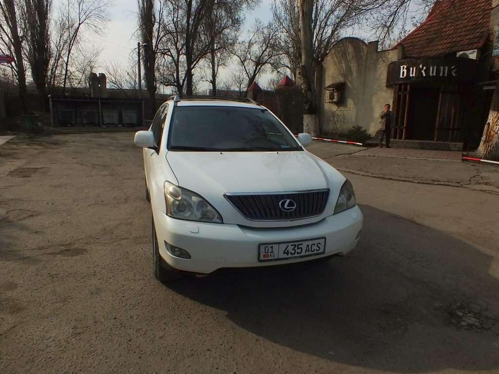 Bişkek'te Bir Taksi