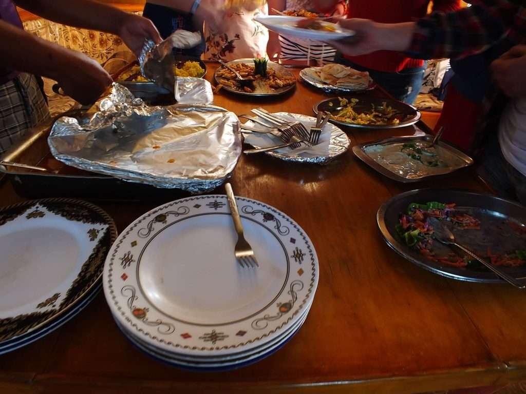 Ras Muhammed Milli Parkı Dalış Turu Yemek Saati
