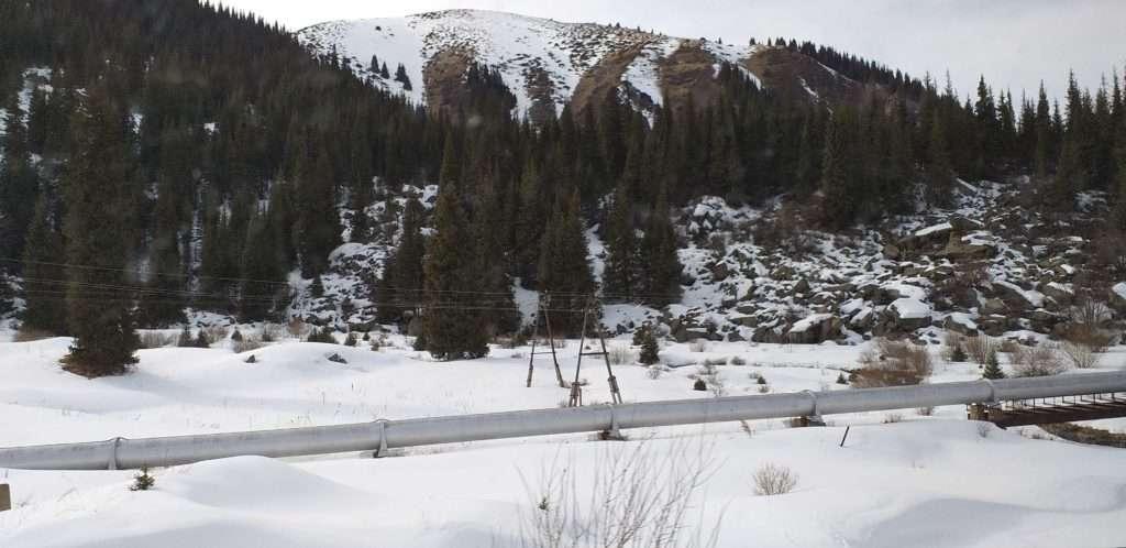 Almatı'ya Giden Su Boruları