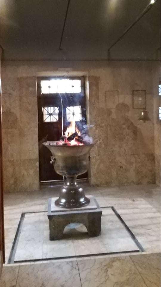 Yazd Atash Behram Tapınağı Sürekli Yanan Ateş