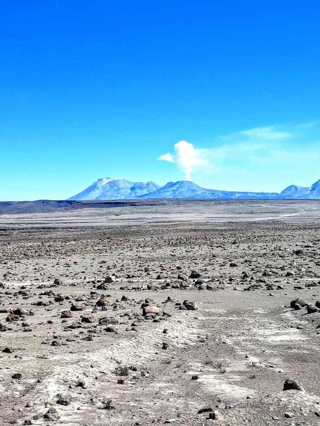 Volcán Sabancaya a 5976 msnm