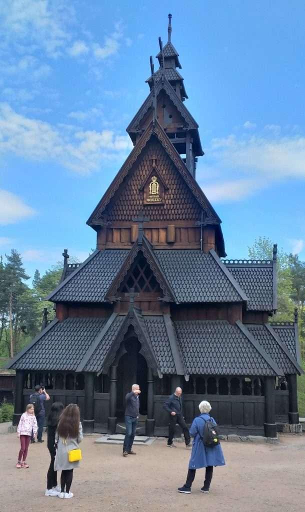 Gol Stave Kilisesi (Stavkirke Fra Gol)