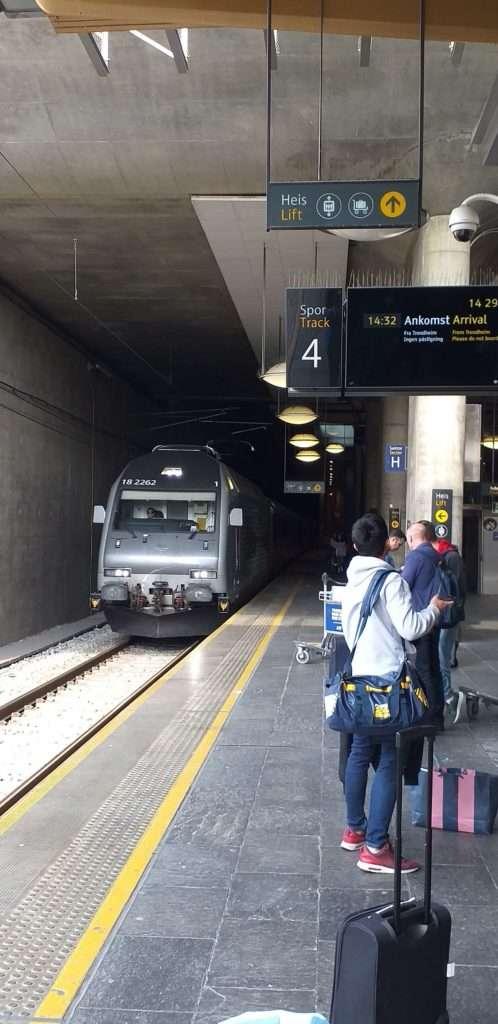 Oslo Ulaşım SistemiNSB (Norwegian State Railways) Treni