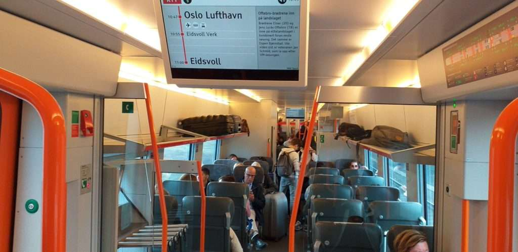 NSB (Norwegian State Railways) Treni