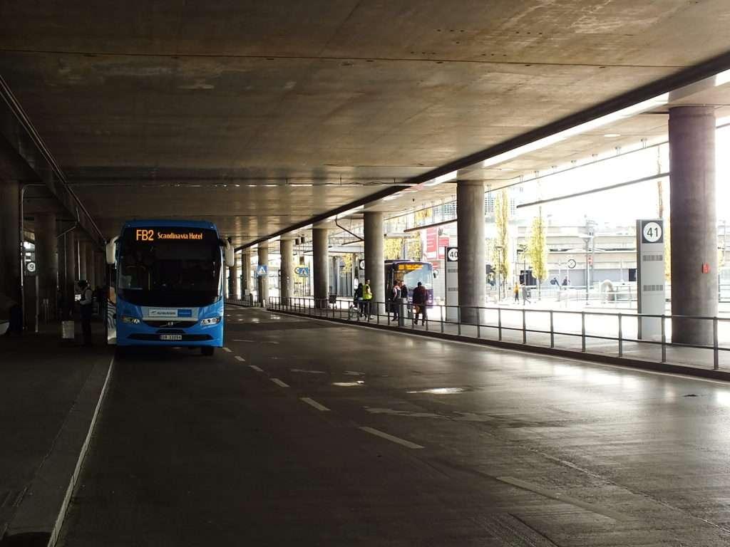 Oslo Ulaşım SistemiFB2 Numaralı Flybussen Otobüsleri