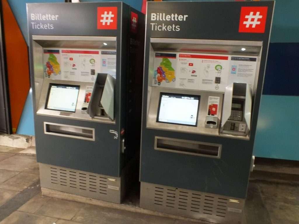 Metro (T-Bane) Biletmatikleri