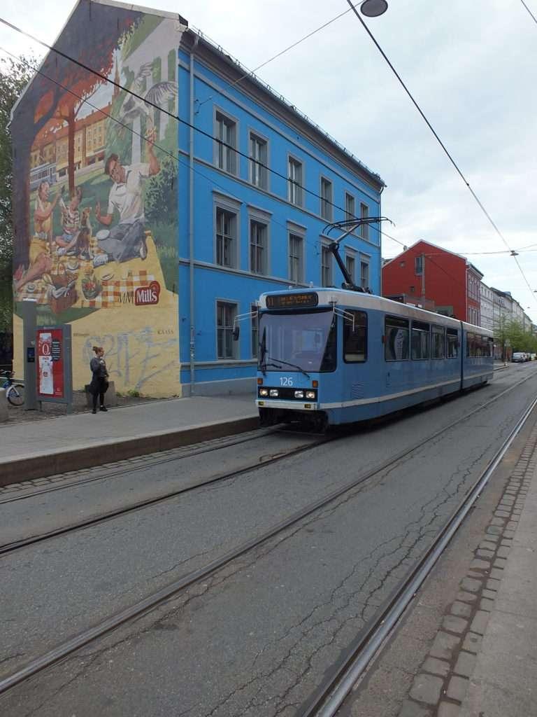Oslo Ulaşım SistemiOslo'da Bir Tram
