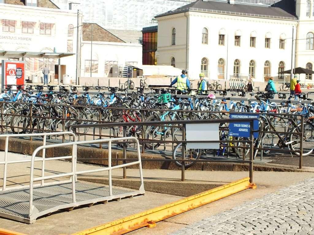 Oslo Ulaşım SistemiOslo'da Bir Bisiklet Parkı