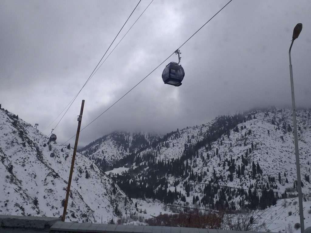 Shymbulak Kayak Merkezi Rotalar ve Teleferik