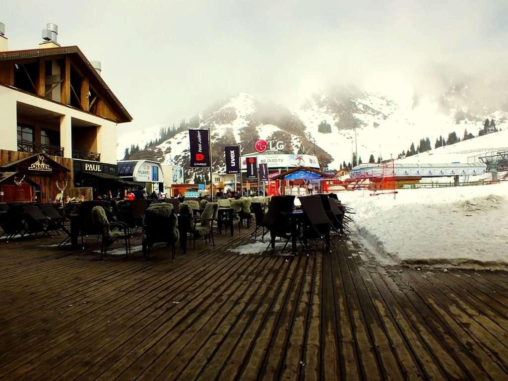 Almatı'da Ne Yenir? Nerede Yenir? Shymbulak Kayak Merkezi