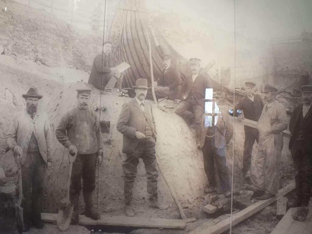 Oseberg Gemisi Kazı Çalışmaları