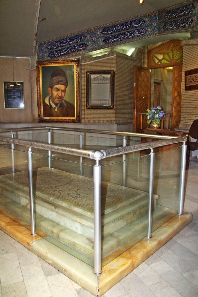 Şairler Mezarlığı Şehriyar'n Mezarı-Tebriz