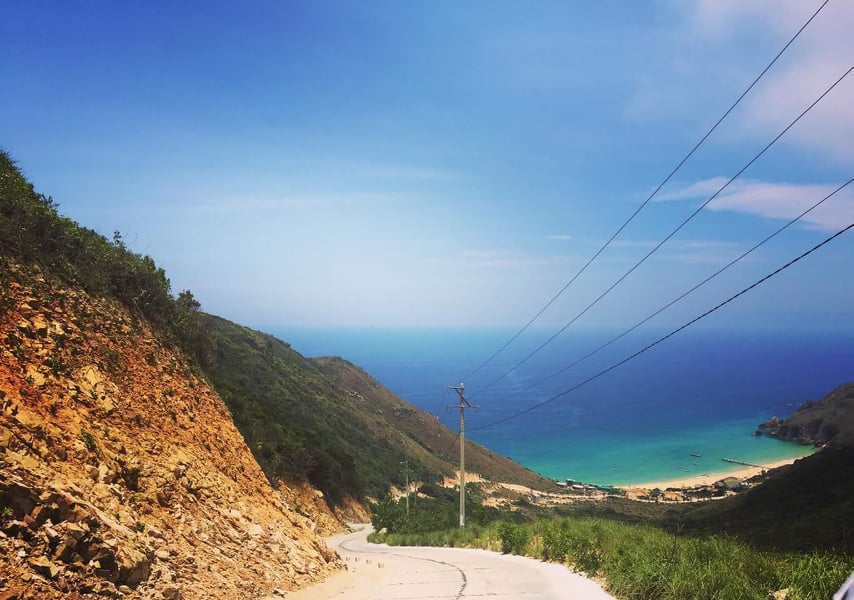 Qui Nhon to Ky Co Beach Road