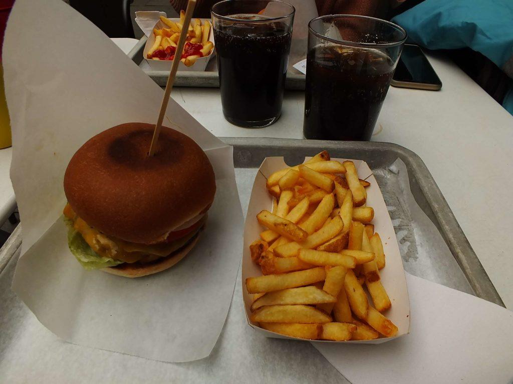 Wünderburger Torggata Cheddar Peynirli Double Hamburger