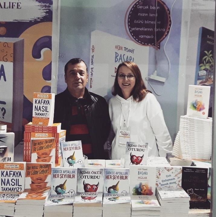 Osmaniye Kitap Fuarı Yazar Psikolog Hayrettin Şahin