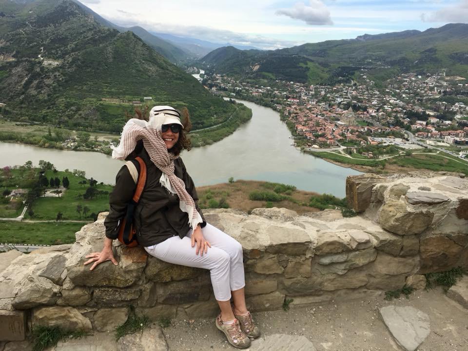 Jvari Manastırı, iki Nehrin Buluşma Noktası