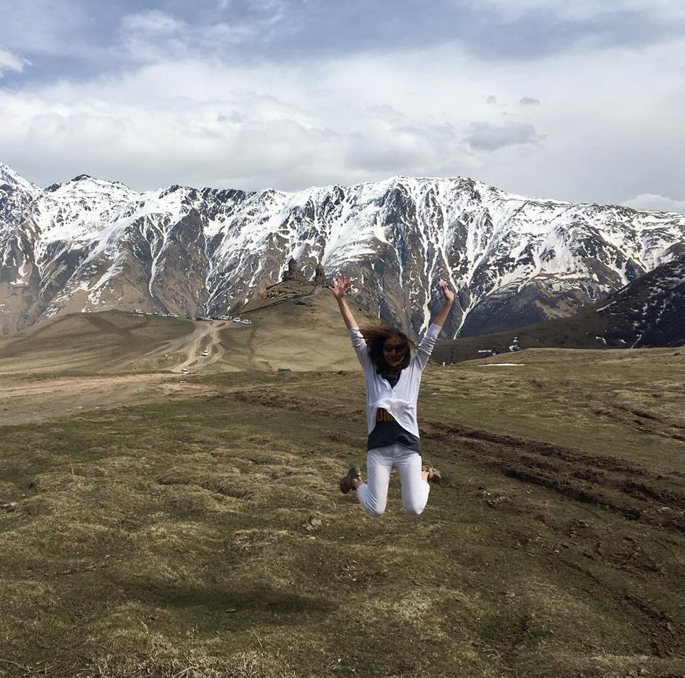 Dağlar Dağlar Kafkaslar...Kazbegi