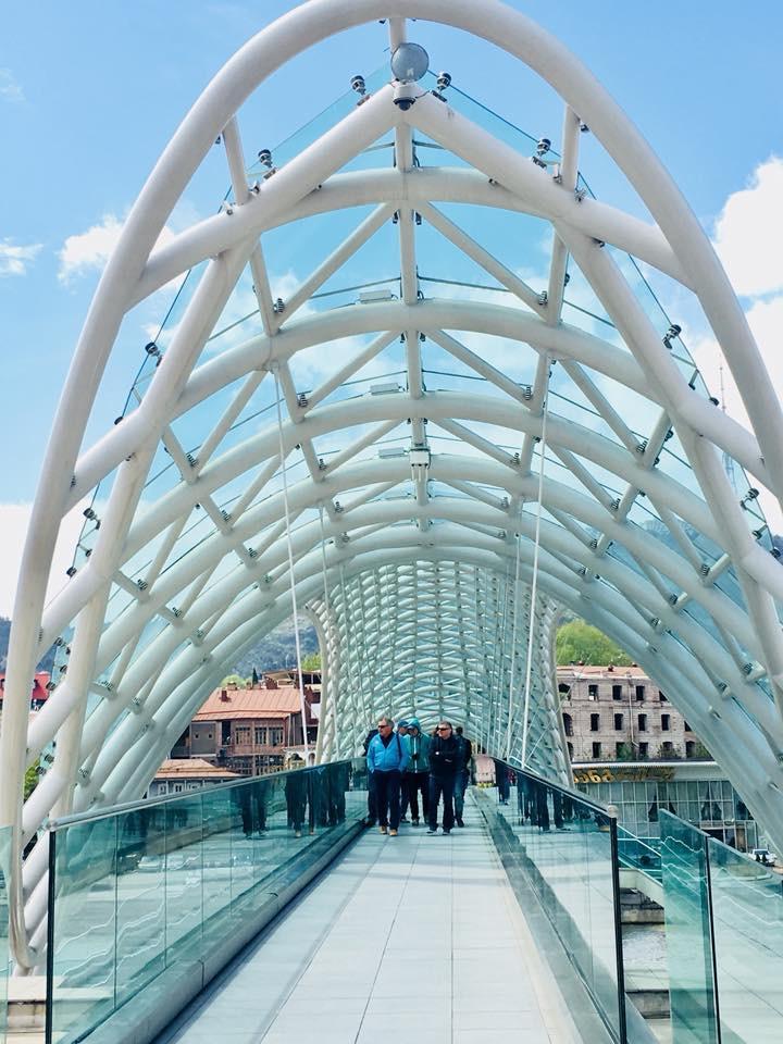 Tiflis Barış Köprüsü Gündüz