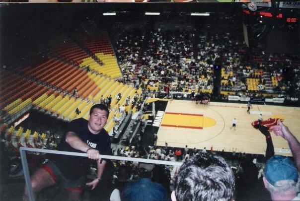 American Airlines Arena'da bir şölen öncesi Miami Heat-Denver Nuggets Maçı