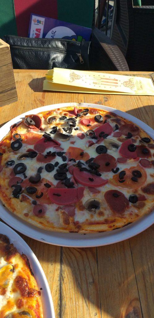 Carob Restaurant & Bar Carop Pizza