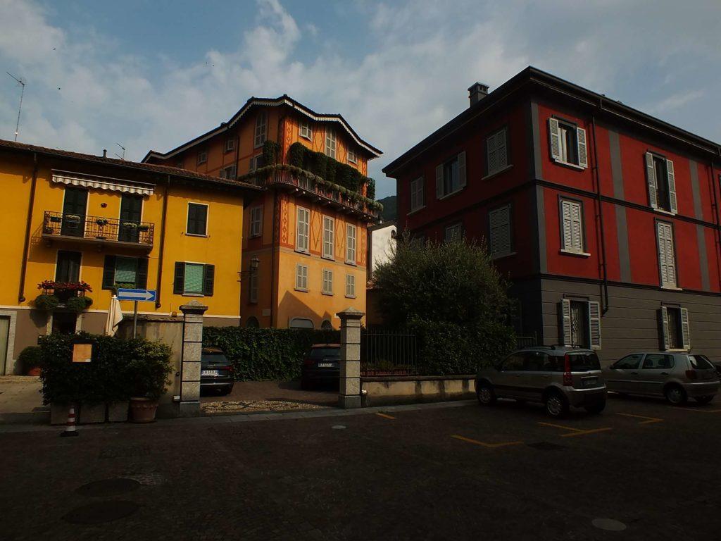 Cernobbio'da Yeni Binalar