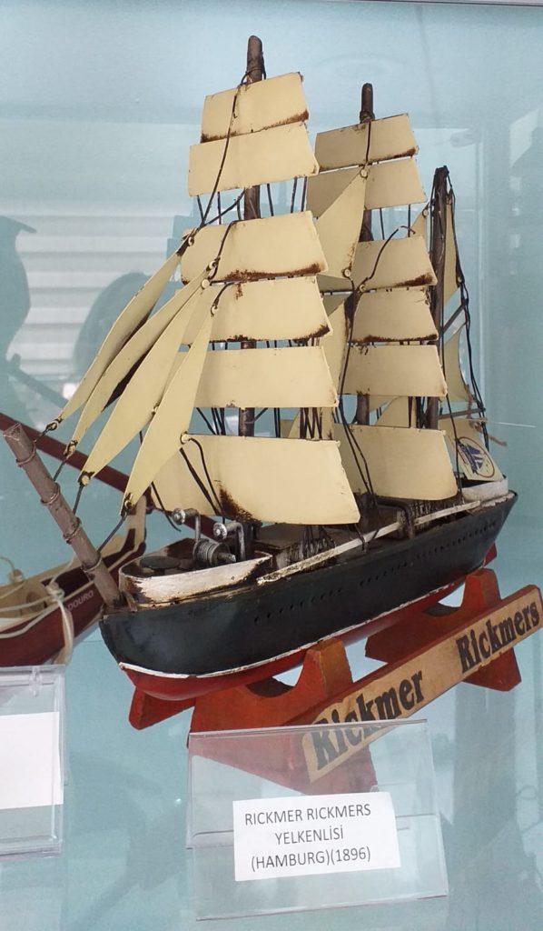 Alman Ticaret Gemisi Maketi