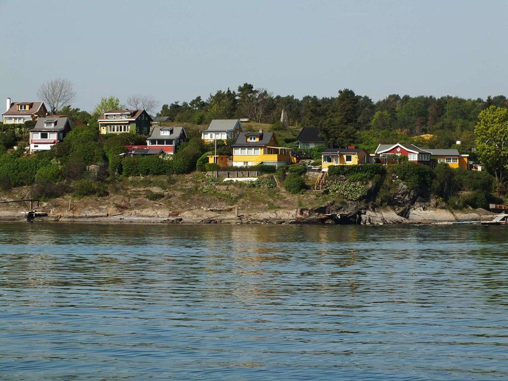 Adanın Denizden Görünümü