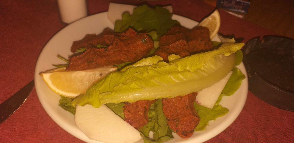 Chef Dimret Mardin Mutfağı Çiğ Köfte
