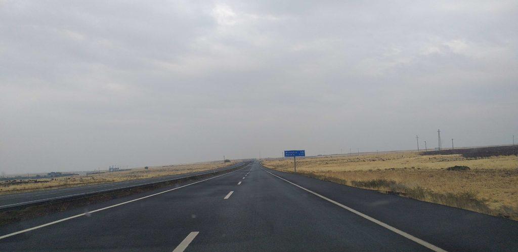 Nusaybin'e Yaklaşırken Suriye Sınırı
