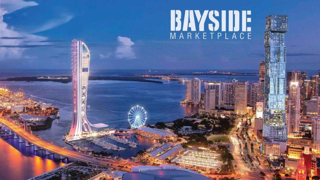 Miami'de eğlenceli Bayside