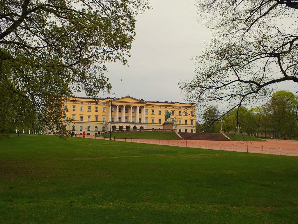 Oslo Gezisi Kraliyet Sarayı (Det Kongelige Slott)