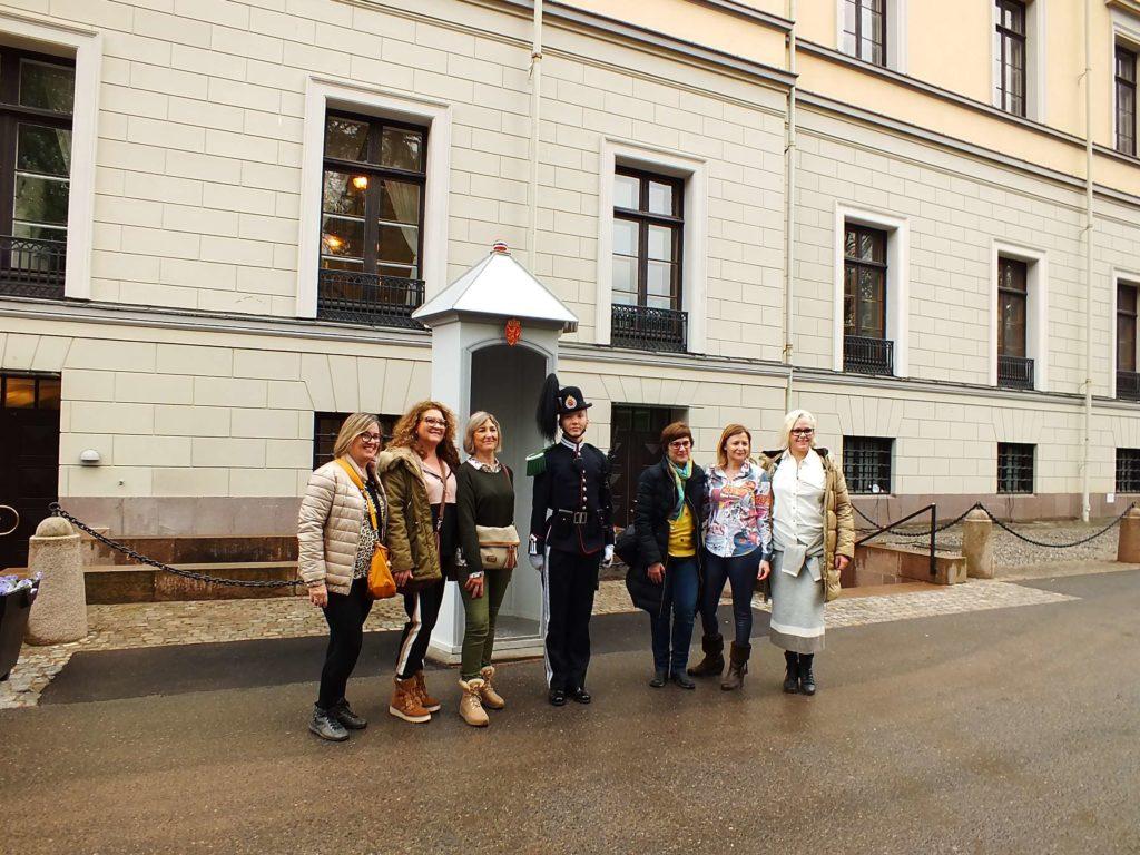 Kraliyet Sarayı (Det Kongelige Slott) Nöbetçileri
