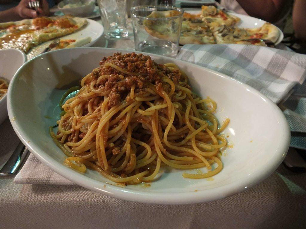 Ristorante Cervo Spaghetti Bolognese
