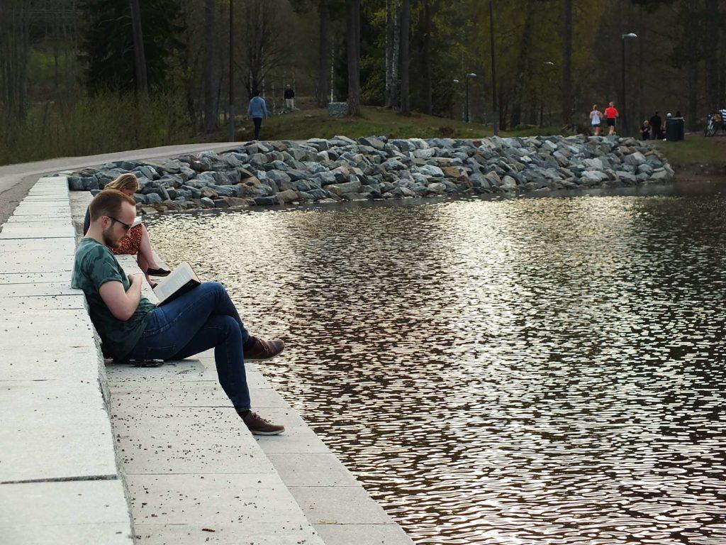 Sognsvann Gölü ve Kitap