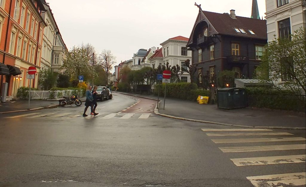 Briskebyveien Caddesi