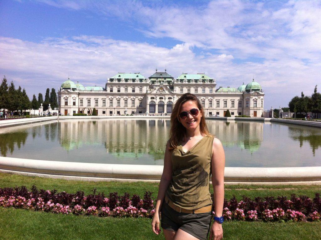 Viyana Gezisi Belvedere Sarayı