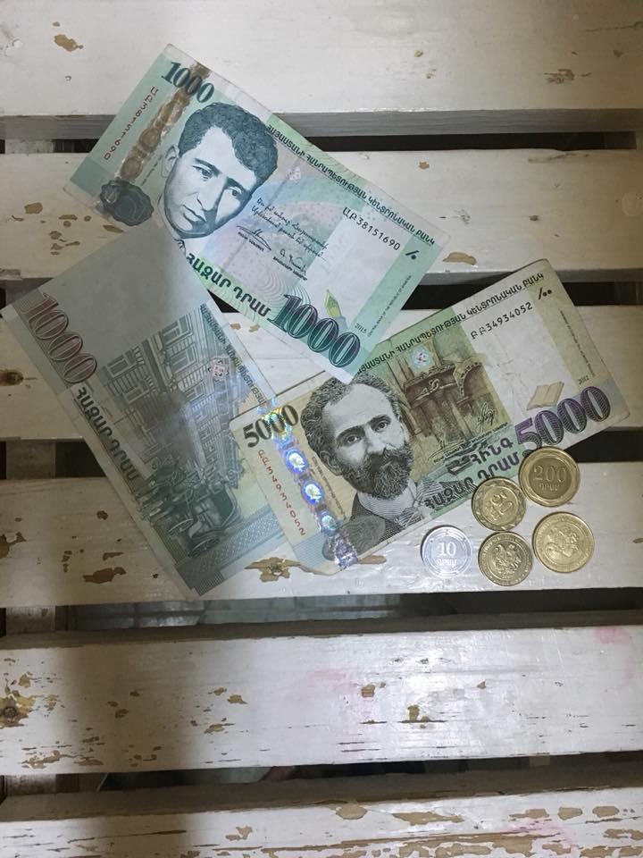 Ermenistan'da Solo Seyahat Kullandığım Paralar