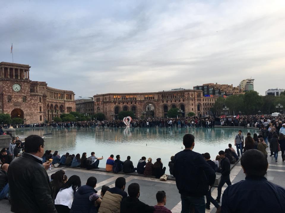 Protesto Gösterileri-Erivan